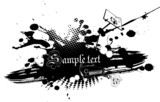 Fototapety Abstract illustration on white background.