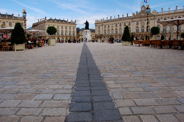 Nancy et sa place Stanislas