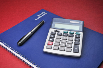 Business Books, Calculator, Expenses, Bookkeeping, Accounting