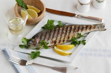 Cavedano ai ferri - Secondi di pesce