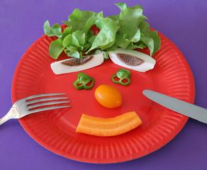 Faites manger des légumes à vos enfants !