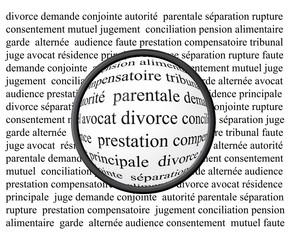 Gros plan sur le divorce
