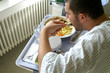 Mittagsessen im Krankenhaus 3