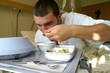 Mittagsessen im Krankenhaus 2