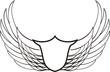 insignia con alas