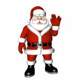 Santa Pose - Live Long and Prosper. poster