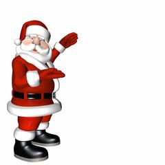Santa Presentation Pose 2.