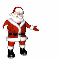 Santa Presentation Pose 1