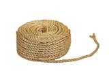 Rope coil isolated on a white background poster