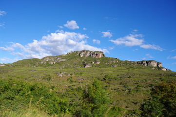 Montagne de la Chapada Diamantina, Brésil