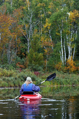 Autumn Kayaking
