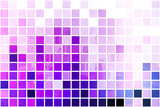 Purple Simplistic and Minimalist Abstract Block Background poster
