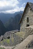 Hidden Inca sanctuary of Machupicchu. Cusco, Peru poster