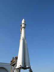 Spaceship rocket, VDNH, Moscow,Russia