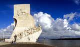 Padrao dos Descobrimentos (Sea-Discoveries monument) in Lisbon. poster