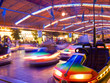 Bumper cars in motion