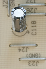 one capacitor in a decoder in detail