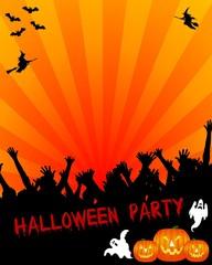 halloween party hintergrund