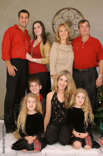 merry christmas family vertical