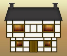 Casa Tudor a graticcio