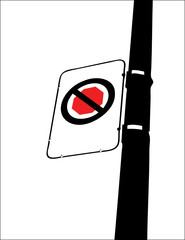 """Don't Stop"" Street Sign - customize with your text"