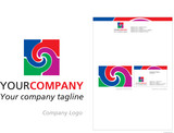 logo and stationery design for company poster