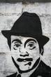 Quadro graffiti jose luis lopez vazquez. cine español