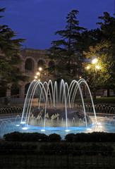La fontana della Brà