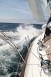 Leinwandbild Motiv Sturm auf hoher See