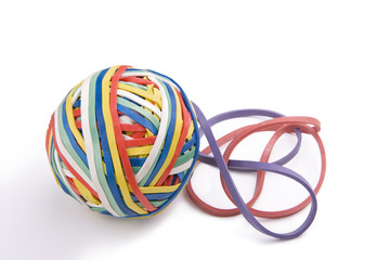Rubber Band Ball Plus Two