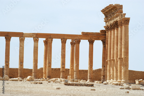 ancient Palmyra, Syria