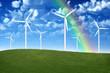 Wind generators with CG sky