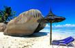 Anse source d'argent à la Digue (Seychelles)