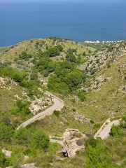 Mallorca - Strasse nach Betlem - Massís d'artà