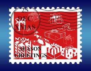 Christmas Stamp.
