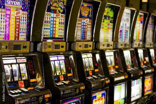 Spoed canvasdoek 2cm dik Las Vegas Slots