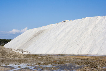 Salin - exploitation du sel