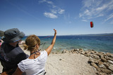 Kite surfing tuition on the Croatian coast poster