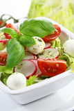 Vegetable salad with low calorie - healthy eating poster