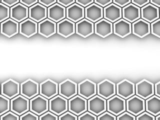 Honeycomb. Background. 3d