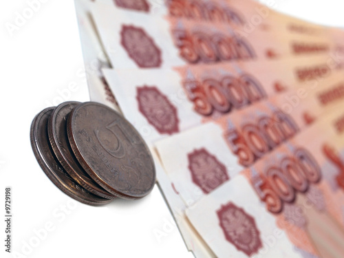 Russian five and five thousand rubles