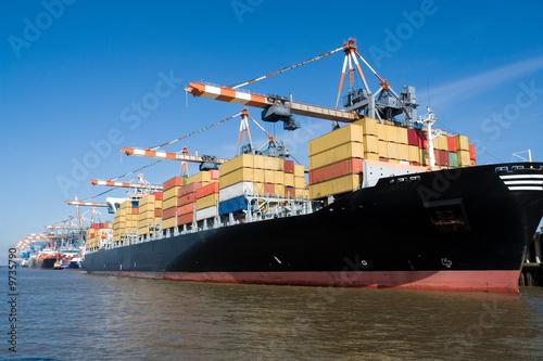 Containerterminal w Bremerhaven