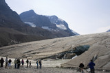 The Athabasca Glacier, part of the Columbian Icefields.
