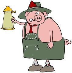 Oktoberfest Pig