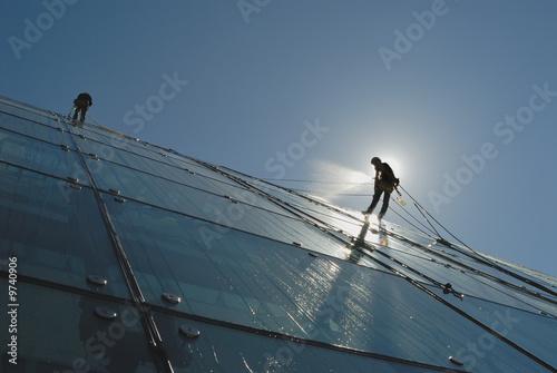 Reinigung Glasfassaden