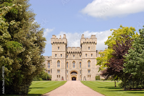 Leinwanddruck Bild Castle