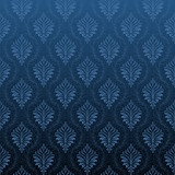 Seamless Damask wallpaper - 9743912
