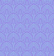 Seamless Jugendstil Wallpaper