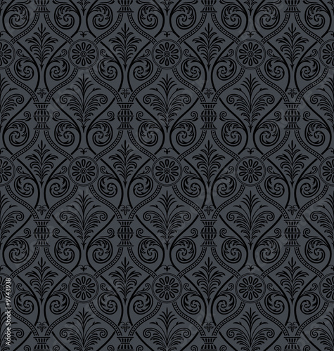 baroque wallpaper. gothic Damask Wallpaper