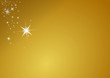 gold Merry christmas background stars